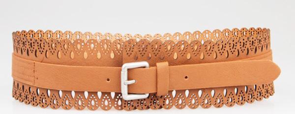 модные аксессуары весна-лето 2014 кожаный ремень
