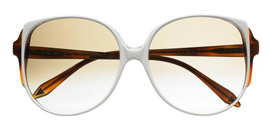 модные аксессуары весна-лето 2014 очки в белой оправе
