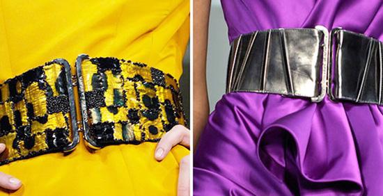 модные аксессуары весна-лето 2014 широкие поясы