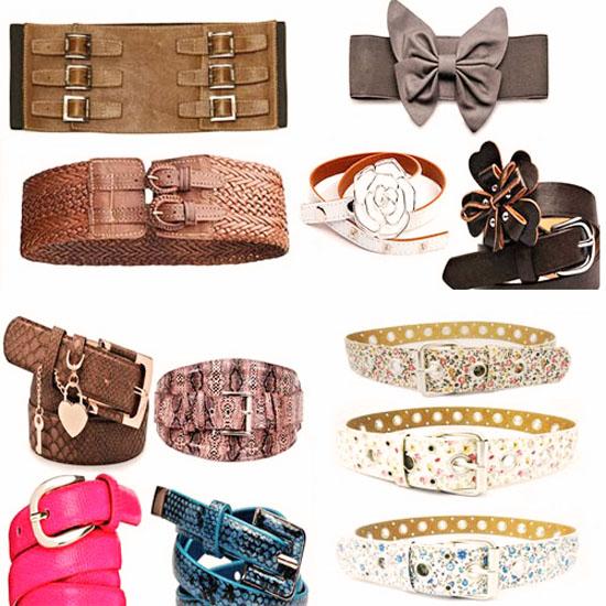 модные аксессуары весна-лето 2014 ремни