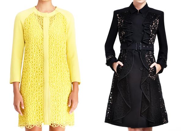 Модные плащи весна-лето 2014
