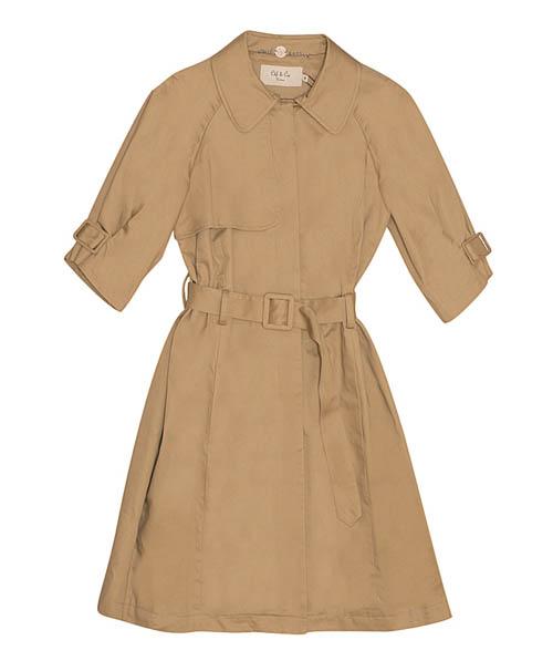 модные плащи весна-лето 2014 с коротким рукавом