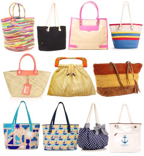 модные сумки весна-лето 2014 пляжные