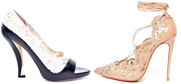 нарядные модели туфлей