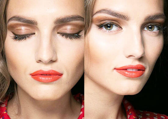 модный макияж весна-лето 2020