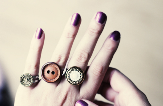 постоянно носить кольца
