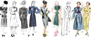 стиль ретро в одежде