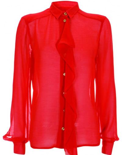 яркая нарядная блуза