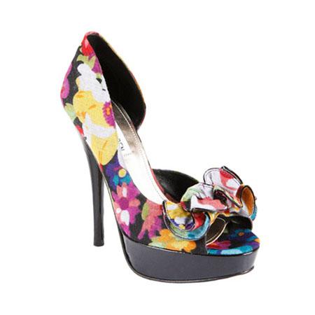 модная летняя обувь 2014 цветочный принт