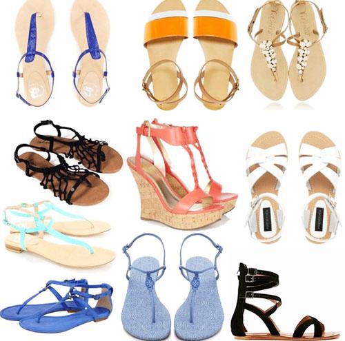 модная летняя обувь 2014 на плоской подошве