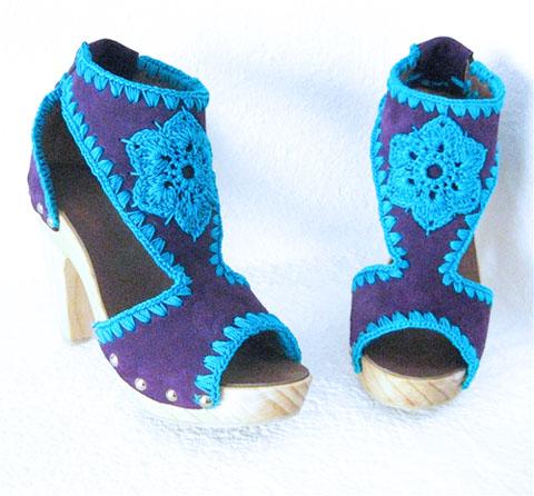 модная летняя обувь 2014 с вышивкой