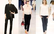 Модные широкие брюки 2014