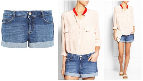 модные шорты лето 2014 джинсовые