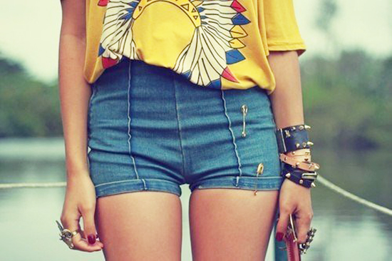 модные шорты лето 2014 микро