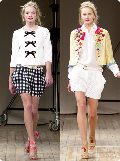 модные шорты лето 2014 в клетку