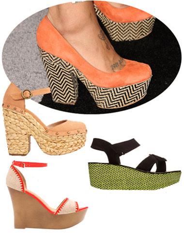 модная летняя обувь 2014 плетеная