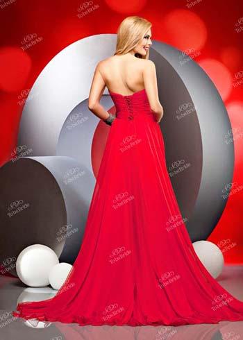 красное платье 2014 длинное вечернее