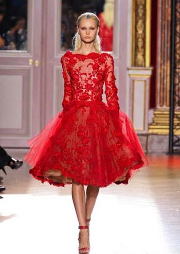 красное платье 2014 кружевное