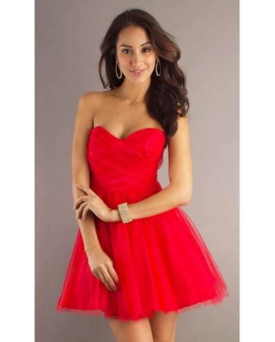 красное платье 2014 на выход