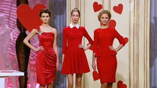 красное платье 2014