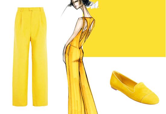 Модные цвета лето 2014 фрезия янтарно-желтый
