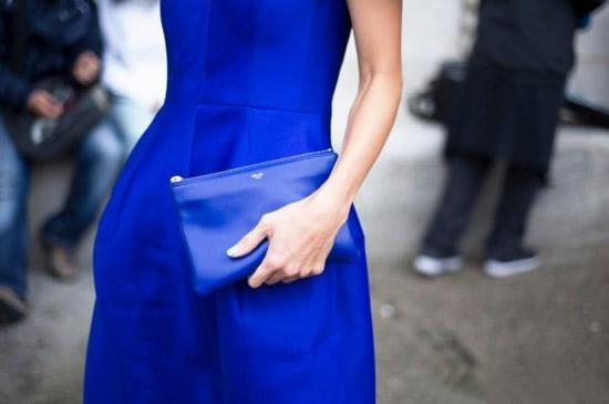 Модные цвета лето 2014 синий кобальт