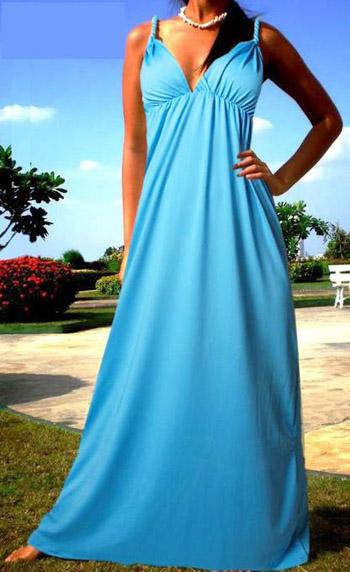 модные сарафаны лето 2014 длинные с декольте