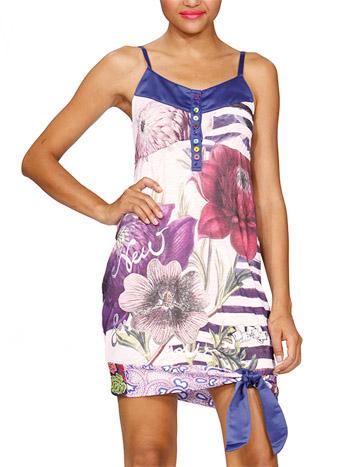модные сарафаны лето 2014 цветы