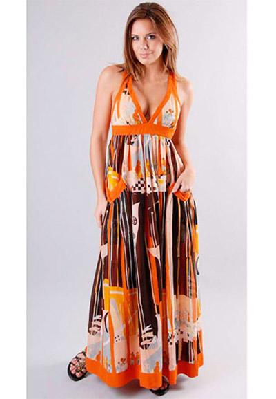 модные сарафаны лето 2014 глубокое декольте