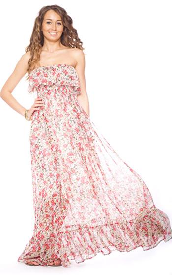 модные сарафаны лето 2014 романтичные
