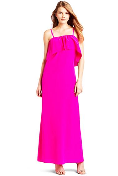 модные сарафаны лето 2014 розовые