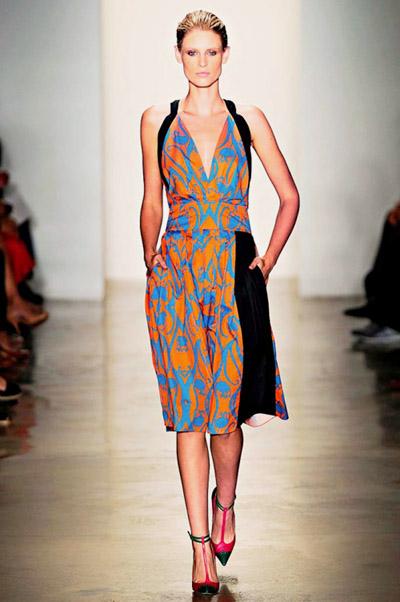 модные сарафаны лето 2014 средняя длина