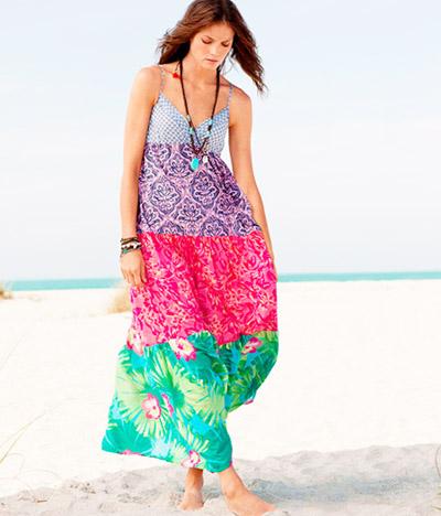 модные сарафаны лето 2014 веселые