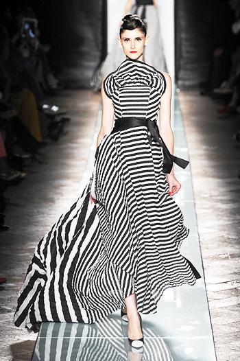 модные тренды лета 2014 черно-белая полоска