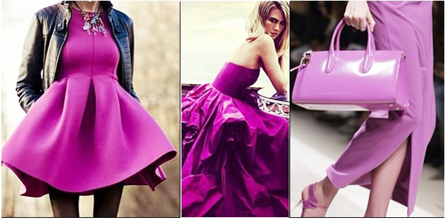 модные тренды лета 2014 цвет сияющая орхидея