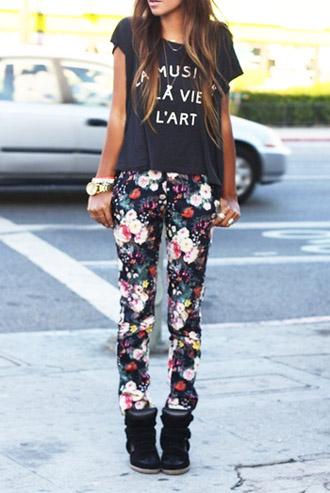 модные тренды лета 2014 цветочный принт