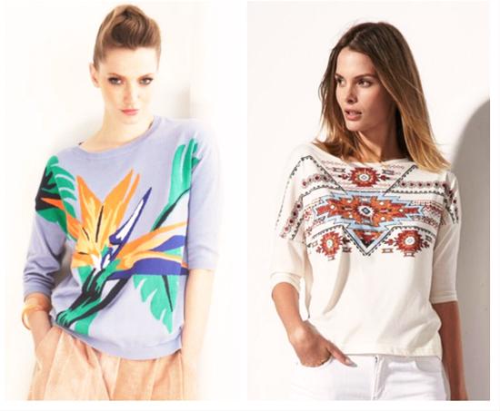 модные тренды лета 2014 этнический принт