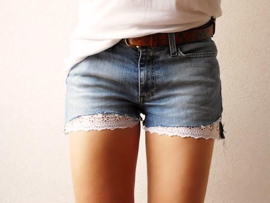 модные тренды лета 2014 короткие шорты