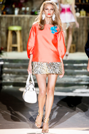 модные тренды лета 2014 легкая блуза