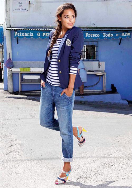 модные тренды лета 2014 морской стиль