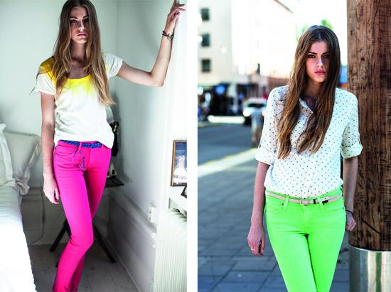 модные тренды лета 2014 насыщенные цвета