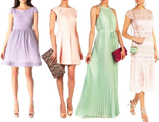 модные тренды лета 2014 пастельные платья