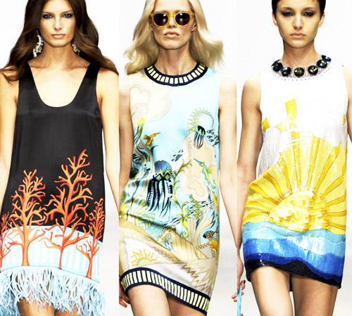 модные тренды лета 2014 восточный принт