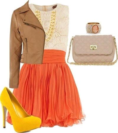 модные юбки лето 2014