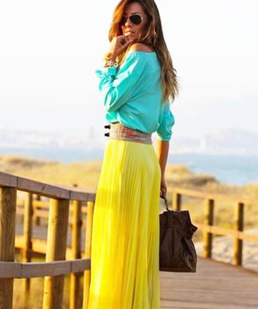 модные юбки лето 2014 длинные