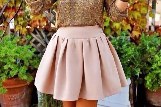 модные юбки лето 2014 пышные юбки