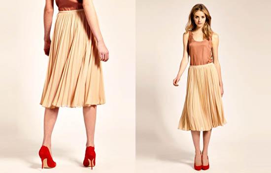 модные юбки лето 2014 плиссированные