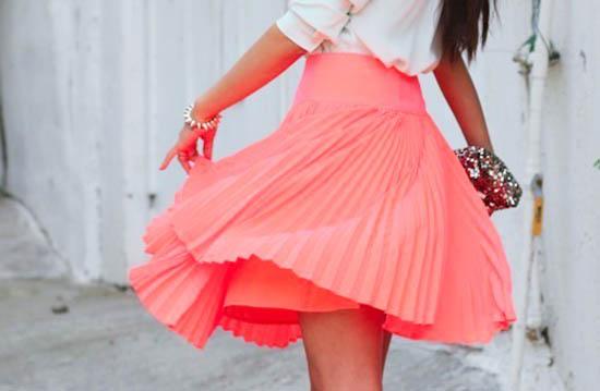 модные юбки лето 2014 плиссировка