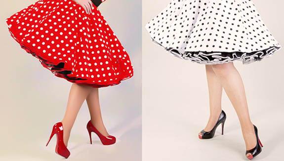 модные юбки лето 2014 в стиле 50-х