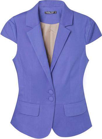 офисная одежда пиджак без рукавов